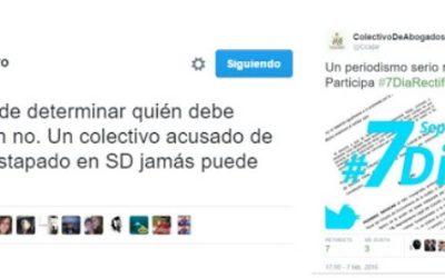 Manuel debe disculparse con la sociedad y con los periodistas de Séptimo Día