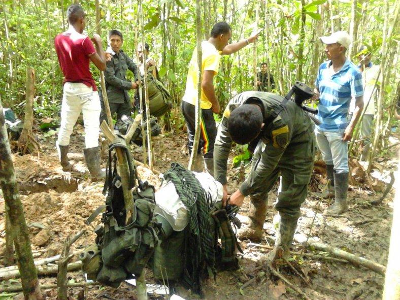 Amenazas ante los campesinos del Tumaco por parte de grupos especiales de la policía del EMCAR
