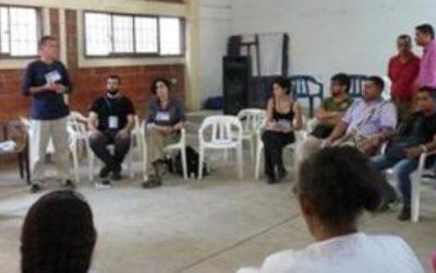 Delegación de Derechos Humanos del Principado de Asturias visita Colombia