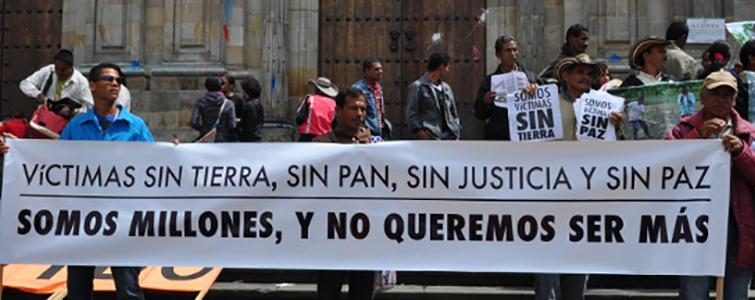 16% de la población es víctima en Colombia