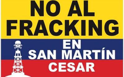 Paro pacifico en San Martin en contra de Fracking en el territorio