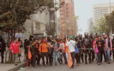 Represión e inteligencia ilegal de la fuerza pública a pesar de diálogo con el gobierno