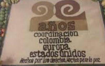 La protesta social es un derecho que camina de la mano de la paz: Coordinación Colombia Europa Estados Unidos