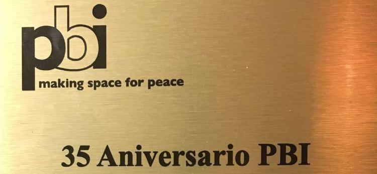 PBI en sus 35 años, hace un bello reconocimiento al Cajar