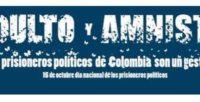 Solicitud al Gobierno colombiano de conceder indultos y amnistías