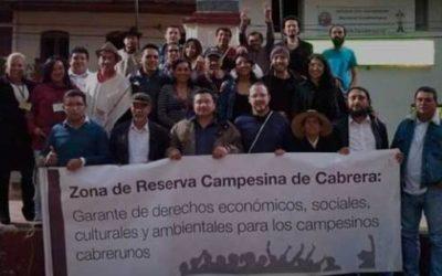 Cabrera dijo no a proyectos mineroenergéticos mediante consulta popular
