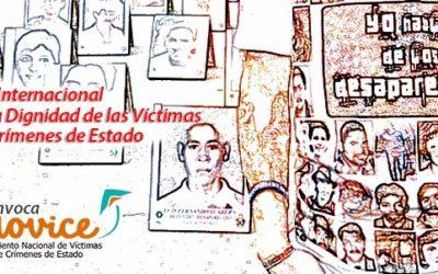 Víctimas de crímenes de Estado se movilizan este 6 de marzo