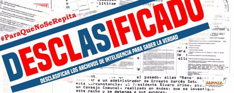 La desclasificación de archivos de inteligencia es una condición impostergable para conocer la Verdad