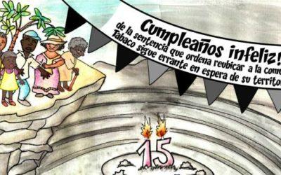 Comunidad de Tabaco: Infelices 15 años esperando la reubicación
