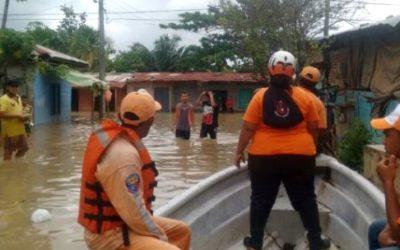 Dos personas muertas y miles de familias damnificadas en Antioquia
