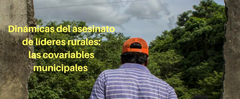 Dinámicas del asesinato de líderes rurales
