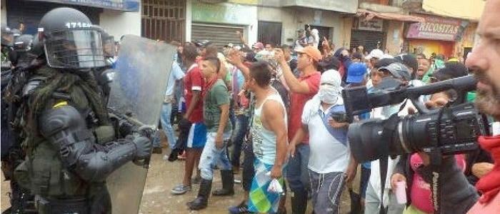 Informe de la situación de DDHH en el marco de la manifestación minera en los municipios de Remedios y Segovia – Antioquia