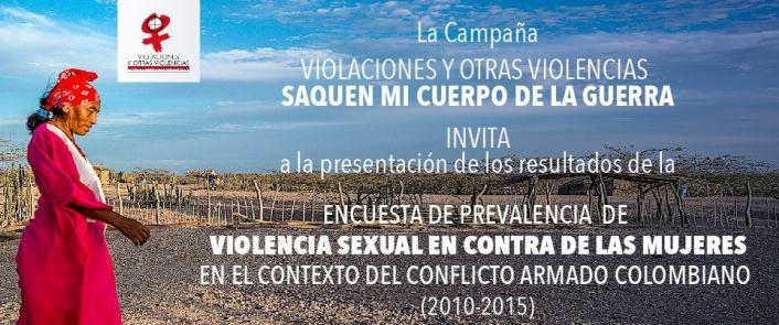En Colombia, 875.437 mujeres fueron víctimas de violencia sexual entre 2010-2015