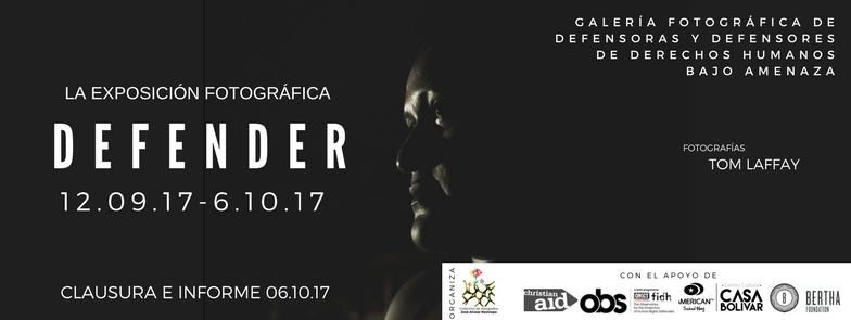 DEFENDER – Galería fotográfica de defensores y defensoras de derechos humanos bajo amenaza