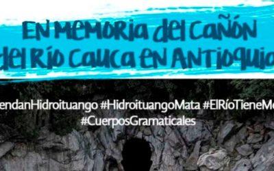 Líderes/as ambientales se siembran en defensa del cañón del río Cauca
