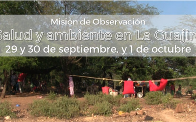 Misión de Observación Salud y Ambiente en la Guajira