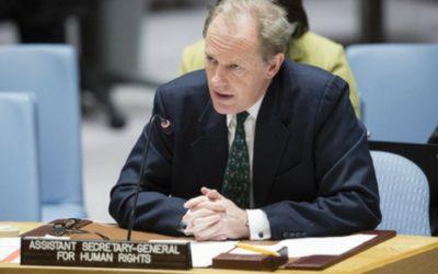 Subsecretario General de Derechos Humanos urge efectiva protección a defensores de derechos humanos en Colombia
