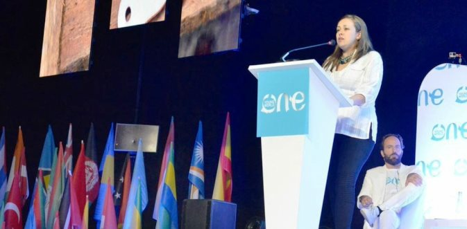 Yessika Hoyos – CAJAR and the H.I.J.O.S. Movement Intervention at the OYW2017 Peace Panel