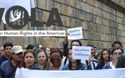 Colombia necesita investigar y sancionar a los responsables por los asesinatos de manifestantes en Tumaco