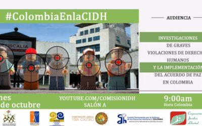 Estado Colombiano rinde cuentas ante la CIDH