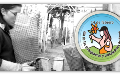 Organizaciones sociales y sindicales se unen para conmemorar el día internacional de las y los trabajadores de flores en Facatativá