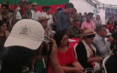 Estado pidió perdón por el asesinato  del lider indígena Edwin Legarda en 2008