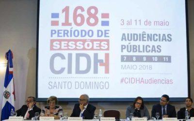 CIDH anuncia calendario de audiencias públicas del 168 Período de Sesiones