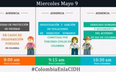 Vuelva a ver las audiencias sobre Colombia en la Comisión Interamericana de Derechos Humanos