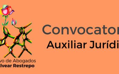 Convocatoria: Auxiliar Jurídico