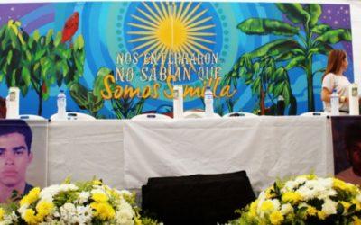 Por ejecuciones extrajudiciales Estado colombiano pidió perdón en Saravena, Arauca