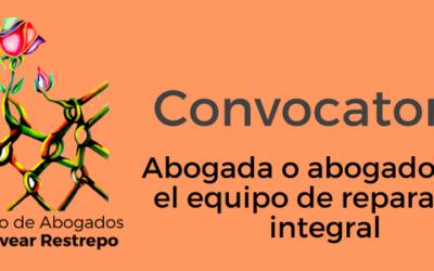Convocatoria beca Fundación Bertha para ejercer como abogada/o en la Corporación Colectivo de Abogados José Alvear Restrepo