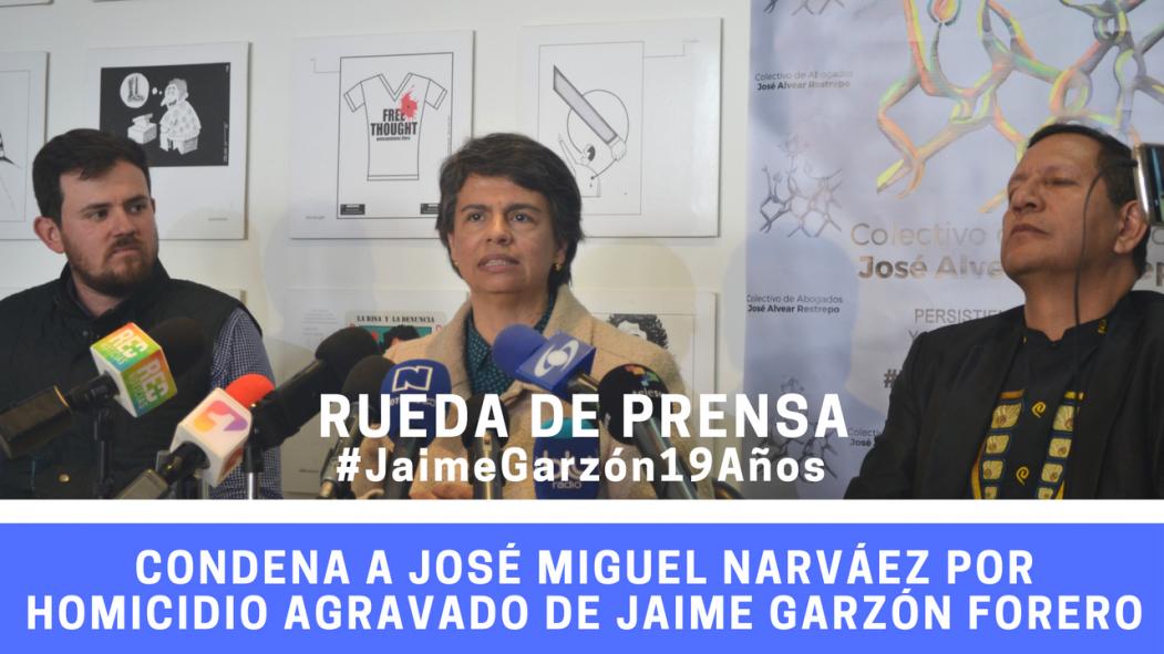 Histórica decisión establece que José Miguel Narváez determinó el asesinato de Jaime Garzón Forero