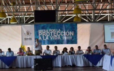 Gobierno y autoridades nacionales firmaron pacto por la vida de los líderes sociales