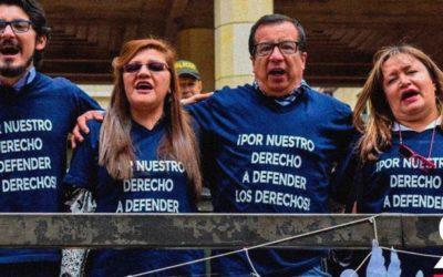 ¡Seguimos! La Corte salvó a los defensores de derechos humanos que quieren estar en la JEP