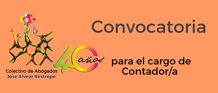 Convocatoria para el cargo de contador/a del Cajar