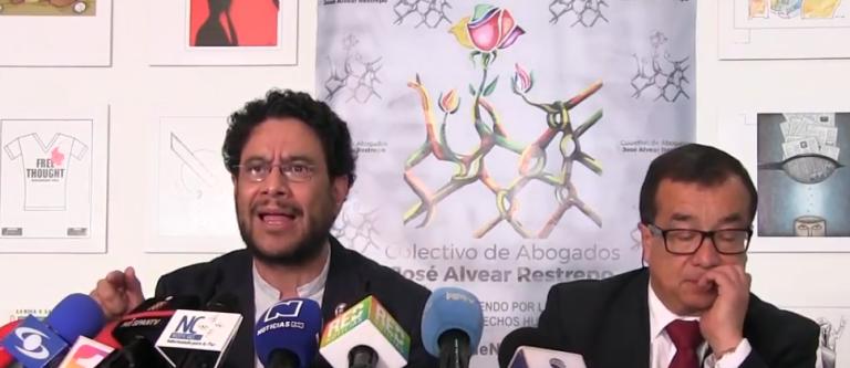 Senador Iván Cepeda y uno de sus abogados visitan la Comisión Interamericana de Derechos Humanos en relación con caso Uribe
