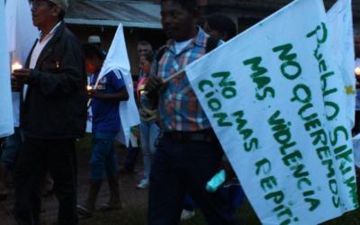Pronunciamiento de organizaciones sociales y defensoras de ddhh sobre masacre en Mapiripán