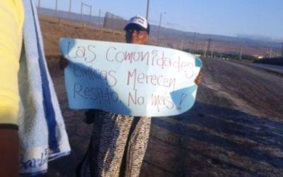 Las familias afrodescendientes ocupan la mina Cerrejón en Colombia para reclamar sus derechos