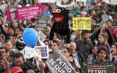 Comunicado de prensa – Senador Gustavo Petro Urrego