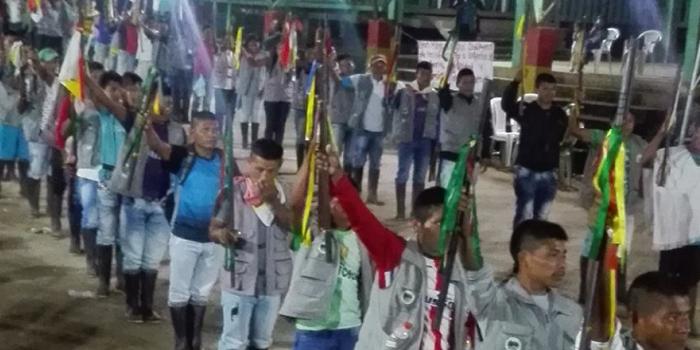 El pueblo indígena Awá anuncia su apoyo a la Minga