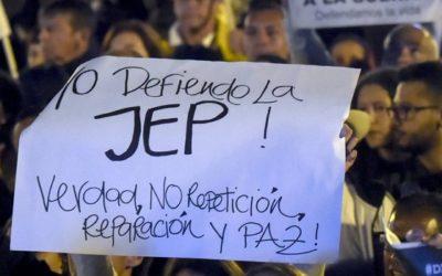 Congreso debe rechazar objeciones presidenciales a la JEP: Federación Internacional de Derechos Humanos (FIDH)