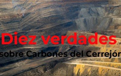 10 verdades sobre Carbones del Cerrejón
