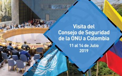 Informe: Misión de Verificación de las Naciones Unidas en Colombia. 27 de junio de 2019