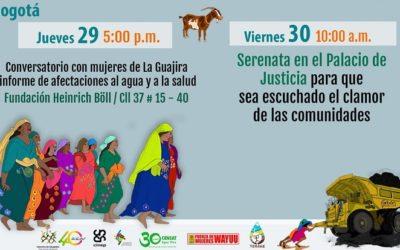 Mujeres Wayúu y afro de La Guajira: En Bogotá por el Arroyo Bruno