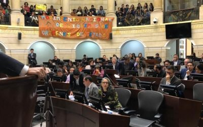En debate en Congreso piden la renuncia de Darío Acevedo, director del Centro de Memoria