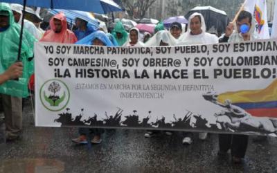 Violencia sociopolítica en contra de integrantes de Marcha Patriótica y solicitud de reunión con el presidente