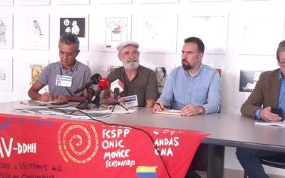 Declaración final de la Décimo Sexta Visita Asturiana de Derechos Humanos en Colombia
