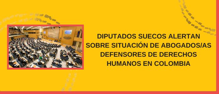 Situación grave de abogados en Colombia