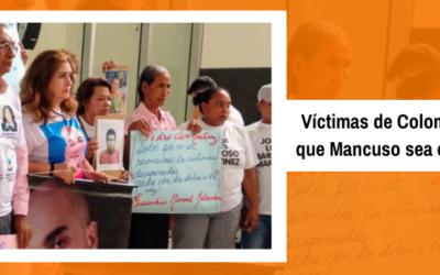 Víctimas de Colombia piden que Mancuso sea extraditado