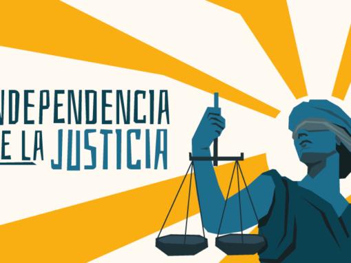 Firma por la independencia de la justicia en Colombia